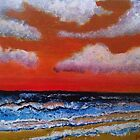 Sunset Beach Acrylics by AndyEssex41
