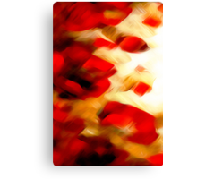 Wild Flowers Oil Painting 3 Canvas Print