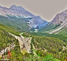 Wonderous Canadian valley by Erika Price