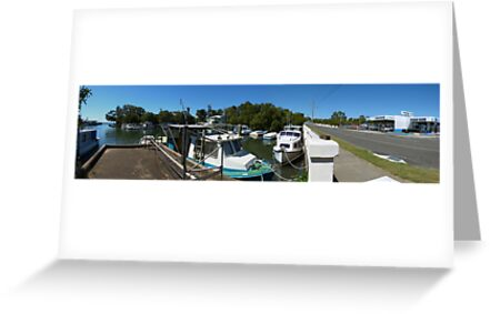 Wynnum panorama by PhotosByG