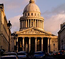 Panthéon, Paris, France by Andrew Jones