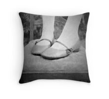 Sweet Mary-Janes.... Throw Pillow
