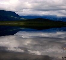Pickaxe handle lake, Yukon by brian  mchade