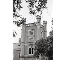 Northern Clock Face—Government House, Hobart Photographic Print