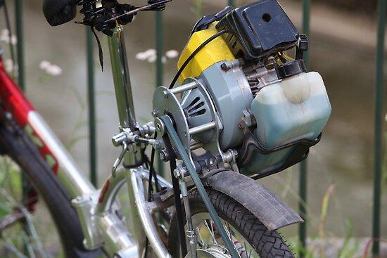 homemade moped by mrivserg