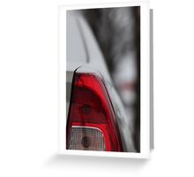 stop signal                Greeting Card