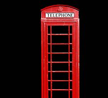 Red Telephone Box by simpsonvisuals