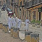 Nuns in Siguenza by Arianey