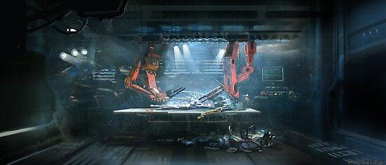 HENRi Building the Robot by Eli  Sasich
