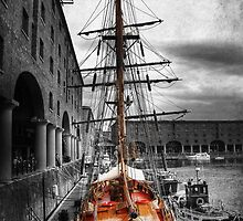 Tall Ship At Liverpool by Yhun Suarez
