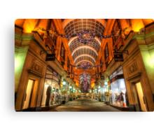 Nottingham Exchange Arcade Canvas Print