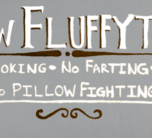 New Fluffytown Sticker