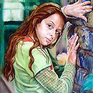 portrait of Marie-Eve by Hidemi Tada