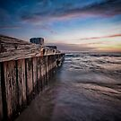 Alongside the jetty by Shari Mattox