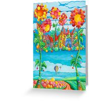 Pearly Gate  Greeting Card