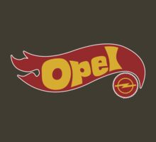 Opel hot wheels by Benjamin Whealing