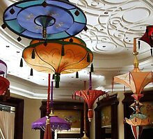 Parasol chandeliers in Las Vegas by Marjorie Wallace