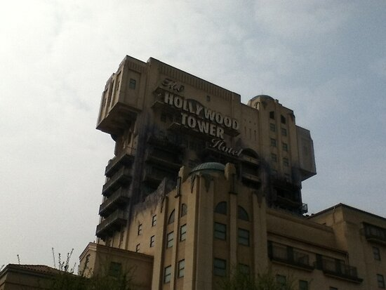 Walt Disney ® Studios - Hollywood Tower Hotel by nicholax11