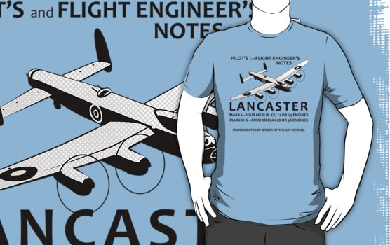 Lancaster flight notes by Siegeworks .