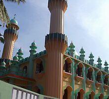 Beachside Mosque Varkala by SerenaB