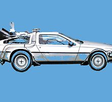 Back to the future by Lewis Ross