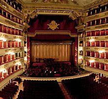La Scala of Milano by wulfman65