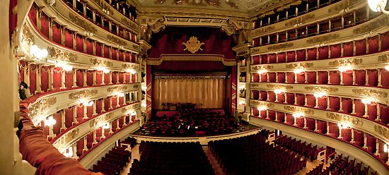 La Scala of Milano by wulfman65