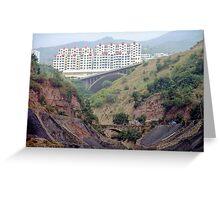 Wanxian, China Greeting Card