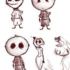 Think Luthaniel Sketches by Boy In A Box Productions