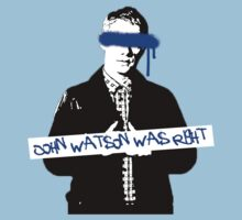John Watson was Right by riotousheart
