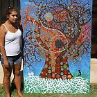 Tree of Life size conparasen ... by LESLEY B