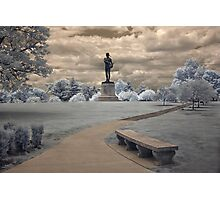 Orpheus in Infra Red at Fort McHenry in Baltimore, Maryland Photographic Print