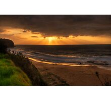 New Day Dawning - Turimetta Beach , Sydney Australia (The Photographers Cut)- The HDR Experience Photographic Print