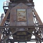 Cockatoo Island - RB Rumble 2012 - Metal Tower by Donnahuntriss