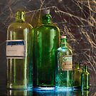 Green Bottles by Werner Padarin