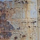 Cockatoo Island - RB Rumble 2012 - Flaking Rust Pattern by Donnahuntriss