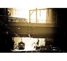Good Morning Melbourne Transport Photographic Print
