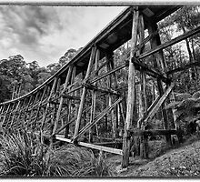 Nooje Trestle Bridge by Shari Mattox