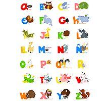 ABC (spanish) Photographic Print