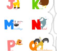 ABC (spanish) Sticker