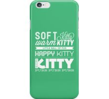 Soft Kitty iPhone Case/Skin