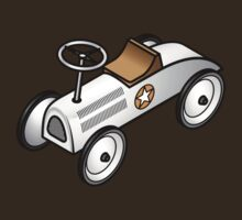 A retro vintage race cart. by Zern Liew