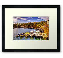 Crail Harbour (HDR Tilt Shift) Framed Print