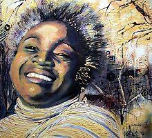 Dorrin Laughing by Eddy Aigbe