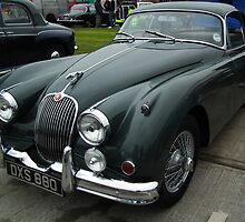 Jaguar XK150 by mike  jordan.