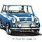 1991 Rover Mini Cooper  by mrclassic