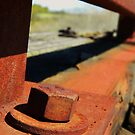 Rusted together for all time. by Heather Crough