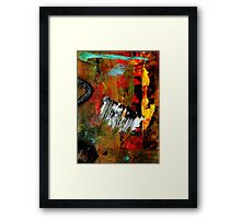Seeing THE LIGHT at The End Framed Print
