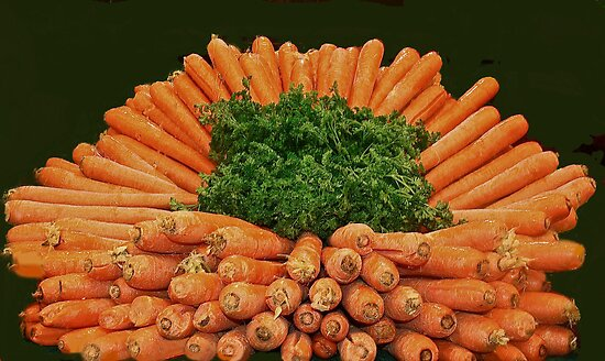 Carrots & Parsley by heatherfriedman