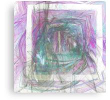Pastel Shades #1 Canvas Print